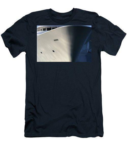 Bow Of Mega Yacht Men's T-Shirt (Athletic Fit)