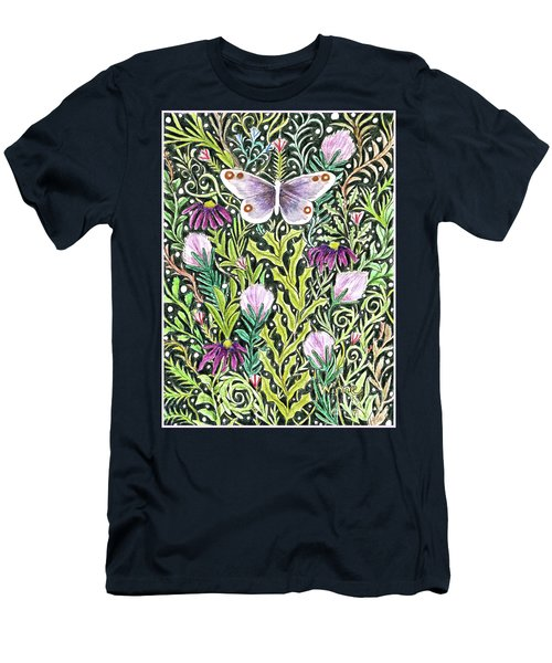 Butterfly Tapestry Design Men's T-Shirt (Athletic Fit)