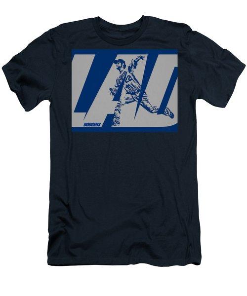 Clayton Kershaw Los Angeles Dodgers City Art 2 Men's T-Shirt (Athletic Fit)
