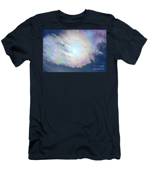 Cloud Iridescence Men's T-Shirt (Athletic Fit)