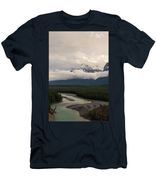 Men's T-Shirt (Athletic Fit) featuring the photograph Clouds In The Valley by Alex Lapidus