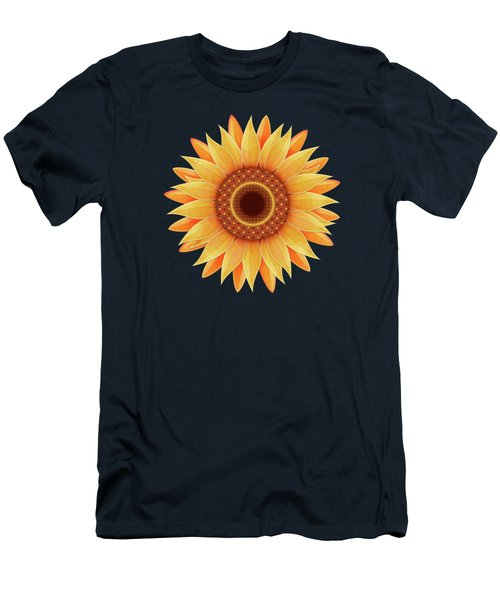 Country Sunflower Men's T-Shirt (Athletic Fit)
