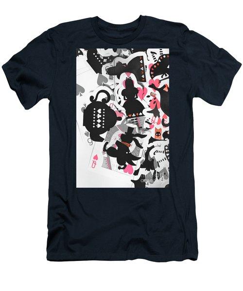 Deep Dream Design Men's T-Shirt (Athletic Fit)