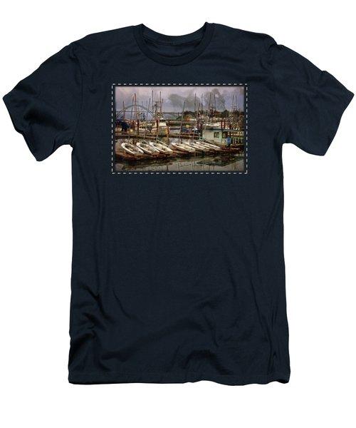 Dinghies Men's T-Shirt (Athletic Fit)