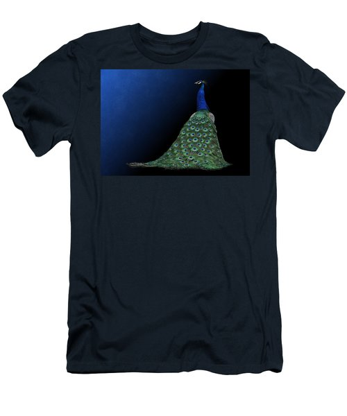 Dressed To Party - Male Peacock Men's T-Shirt (Athletic Fit)