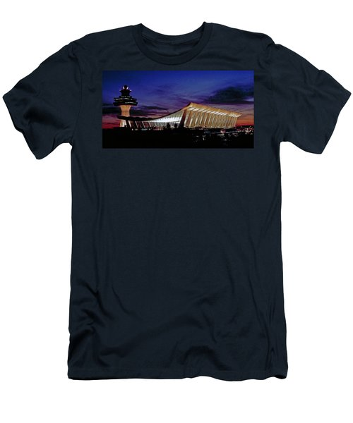 Dulles International Men's T-Shirt (Athletic Fit)