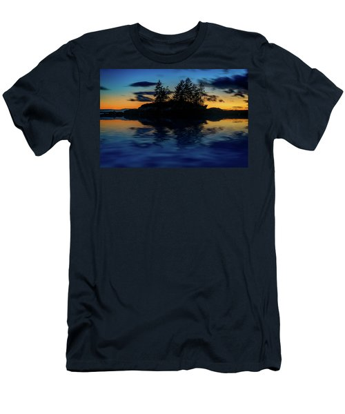 Men's T-Shirt (Athletic Fit) featuring the photograph Dusk At Lookout Point by Rick Berk