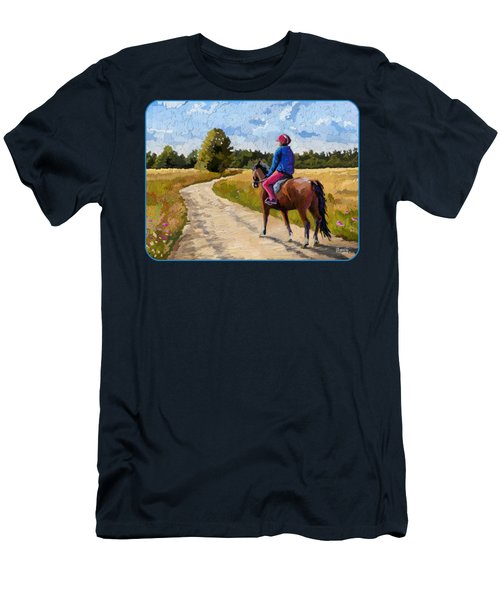 Easy Ride Afternoon Men's T-Shirt (Athletic Fit)