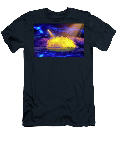 Men's T-Shirt (Athletic Fit) featuring the photograph Encounter by Mike Braun