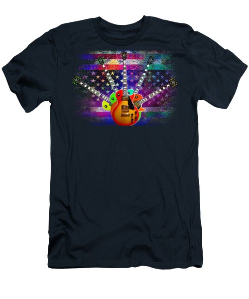 Five Guitars Men's T-Shirt (Athletic Fit)