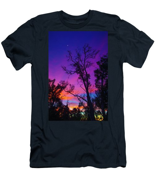 Forest Colors Men's T-Shirt (Athletic Fit)