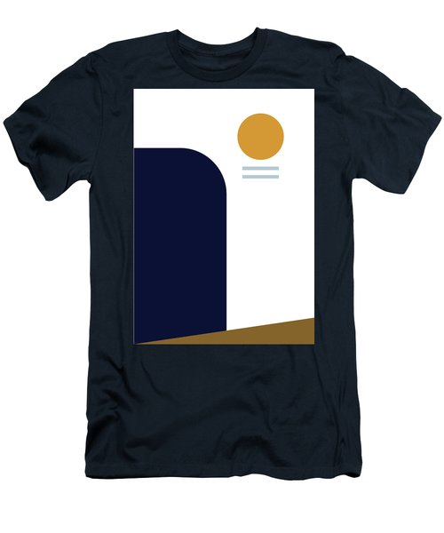 Men's T-Shirt (Athletic Fit) featuring the painting Geometric Painting 2 by Arttantra