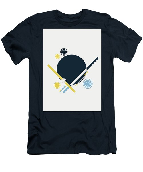 Men's T-Shirt (Athletic Fit) featuring the painting Geometric Painting 3 by Arttantra