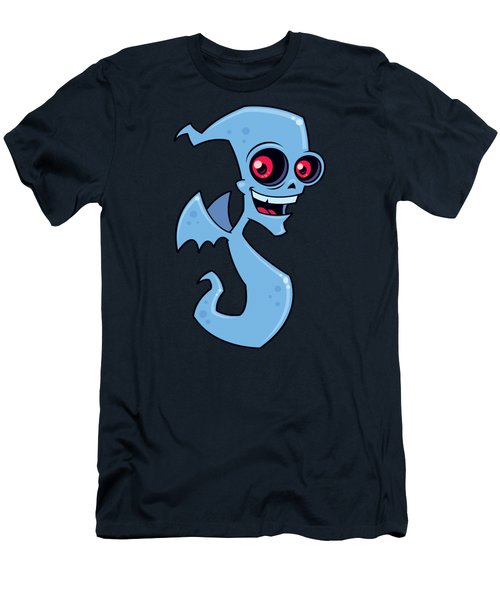 Ghost Demon Men's T-Shirt (Athletic Fit)