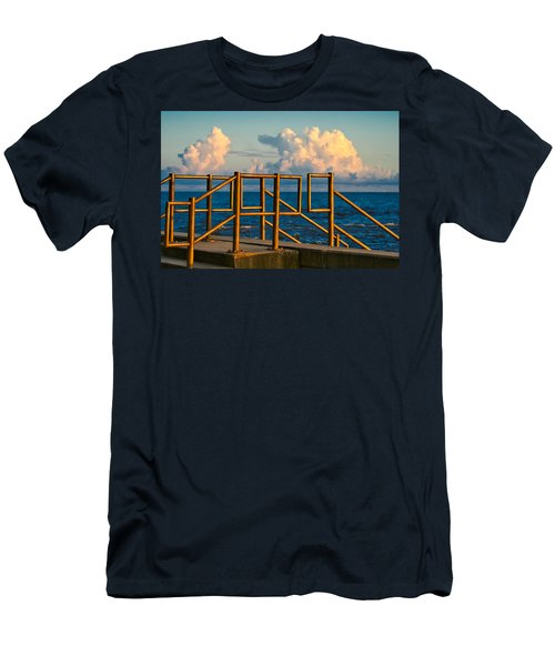 Golden Railings Men's T-Shirt (Athletic Fit)