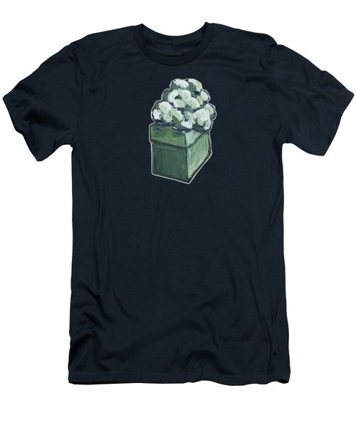 Green Present Men's T-Shirt (Athletic Fit)