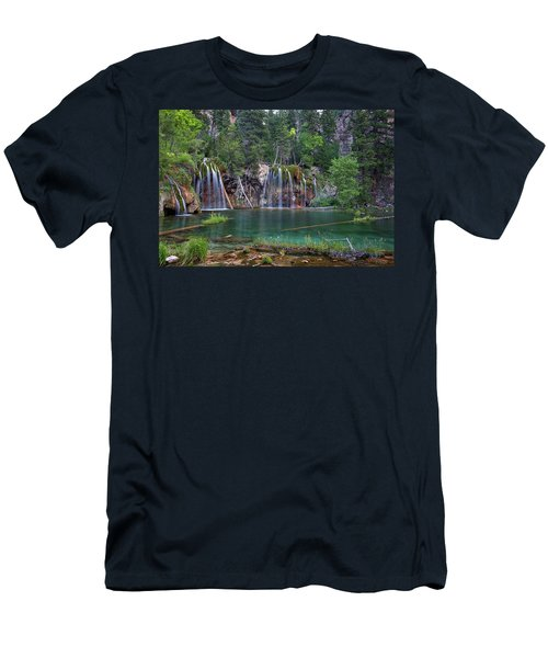 Hanging Lake Colorado Men's T-Shirt (Athletic Fit)