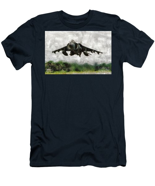 Harrier Jump Jet Men's T-Shirt (Athletic Fit)