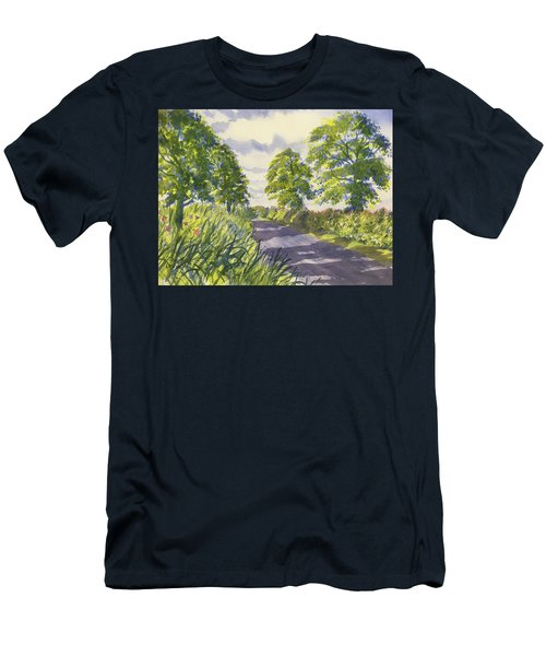 Hedgerows On Rudston Road Men's T-Shirt (Athletic Fit)
