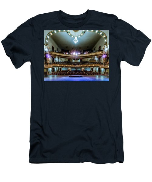Landers Theatre Stage View Men's T-Shirt (Athletic Fit)