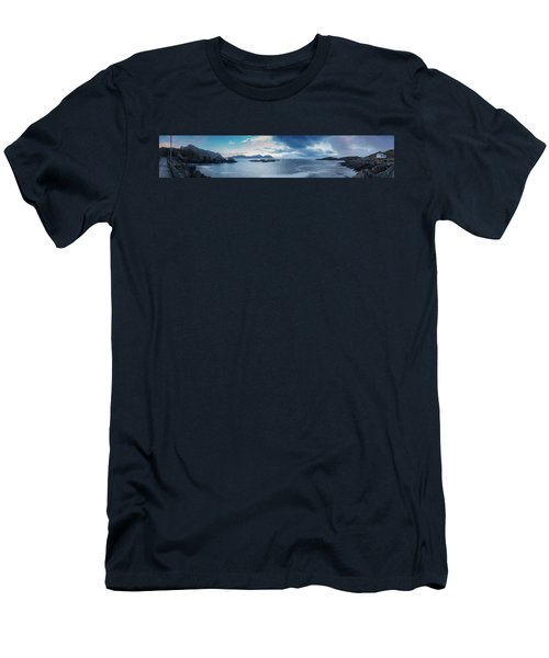 Landscape In The Lofoten Islands Men's T-Shirt (Athletic Fit)