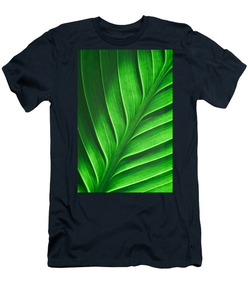 Leaf Pattern Men's T-Shirt (Athletic Fit)