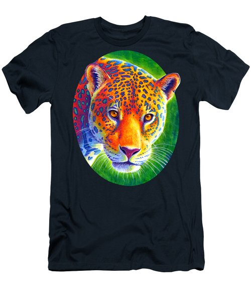 Light In The Rainforest - Jaguar Men's T-Shirt (Athletic Fit)