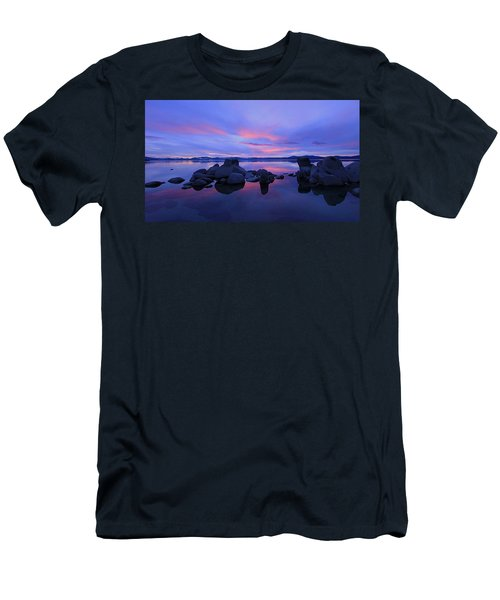 Men's T-Shirt (Athletic Fit) featuring the photograph Liquid Serenity  by Sean Sarsfield