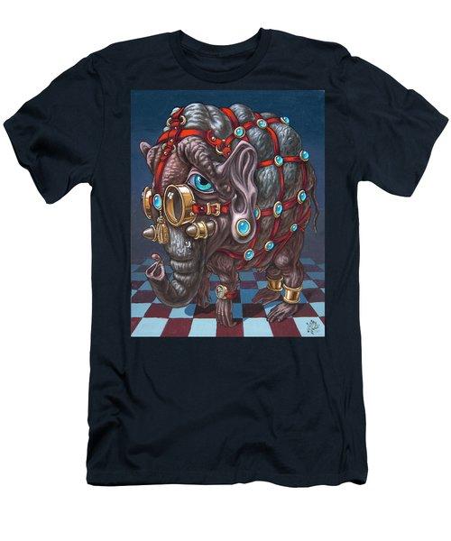 Magical Many-eyed Elephant Men's T-Shirt (Athletic Fit)