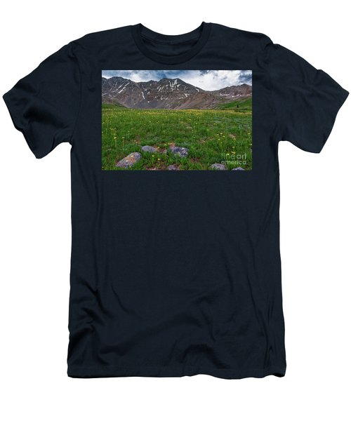 Men's T-Shirt (Athletic Fit) featuring the photograph Mayflower Gulch  by Bitter Buffalo Photography