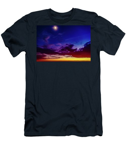 Moon Sky Men's T-Shirt (Athletic Fit)