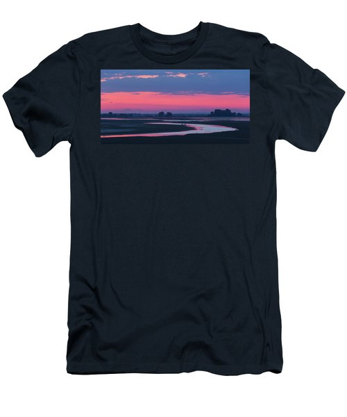 Men's T-Shirt (Athletic Fit) featuring the photograph Mystical River by Davor Zerjav