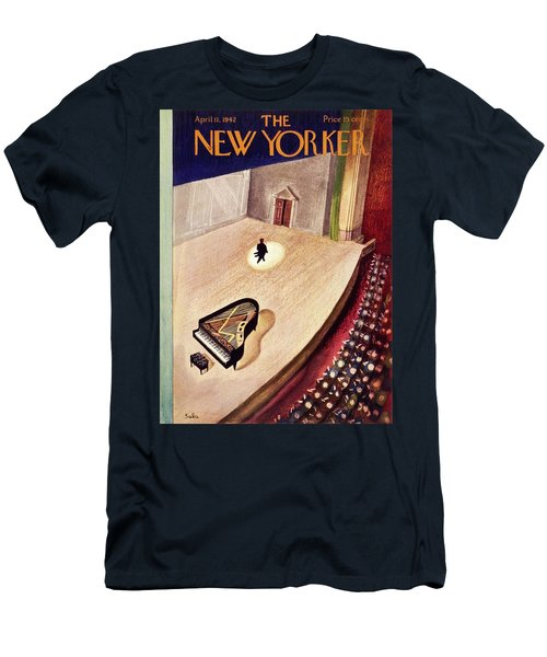 New Yorker April 11th 1942 Men's T-Shirt (Athletic Fit)