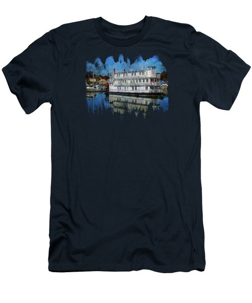 Newport Belle In Yaquina Bay Men's T-Shirt (Athletic Fit)