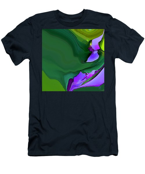 Orchids And Emeralds Men's T-Shirt (Athletic Fit)