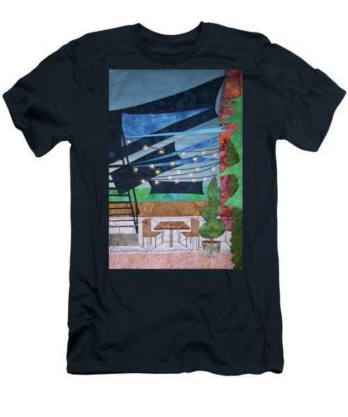 Patio At The Winds Men's T-Shirt (Athletic Fit)