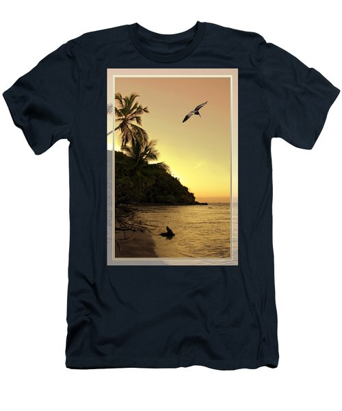 Pelican Sundown Men's T-Shirt (Athletic Fit)
