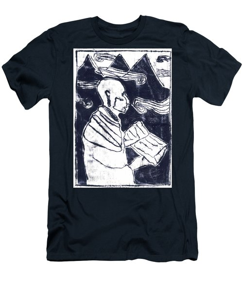 Poet Reading To Wind Clouds Otdv3 13 Men's T-Shirt (Athletic Fit)