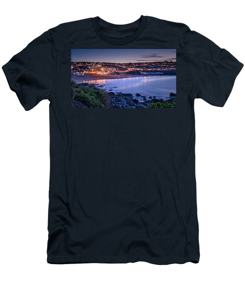 Porthmeor - Long Exposure Men's T-Shirt (Athletic Fit)