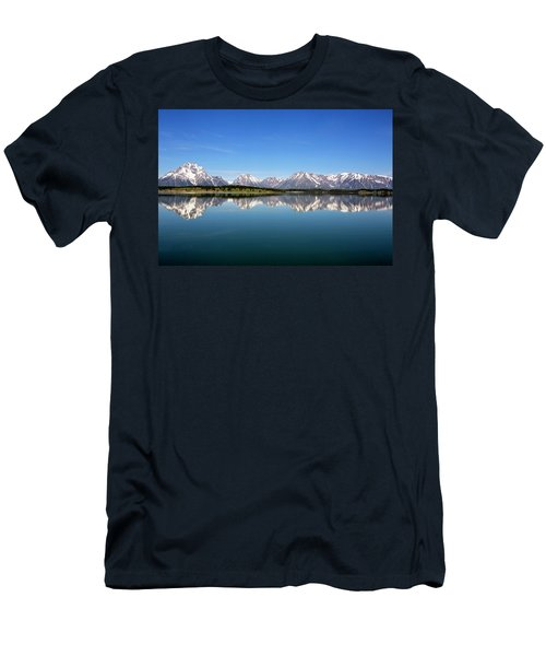 Men's T-Shirt (Athletic Fit) featuring the photograph Purple Mountains Majesty by Sue Collura