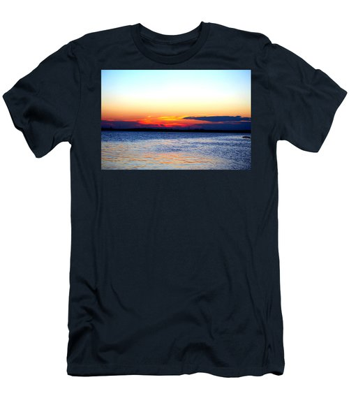 Radiant Sunset Men's T-Shirt (Athletic Fit)