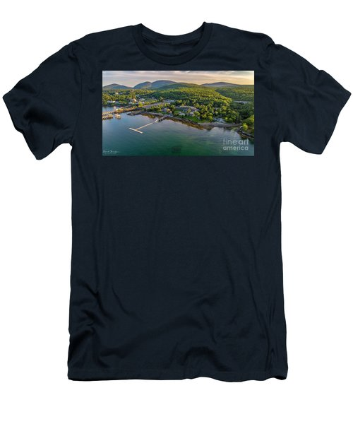 Men's T-Shirt (Athletic Fit) featuring the photograph Regent Views by Michael Hughes