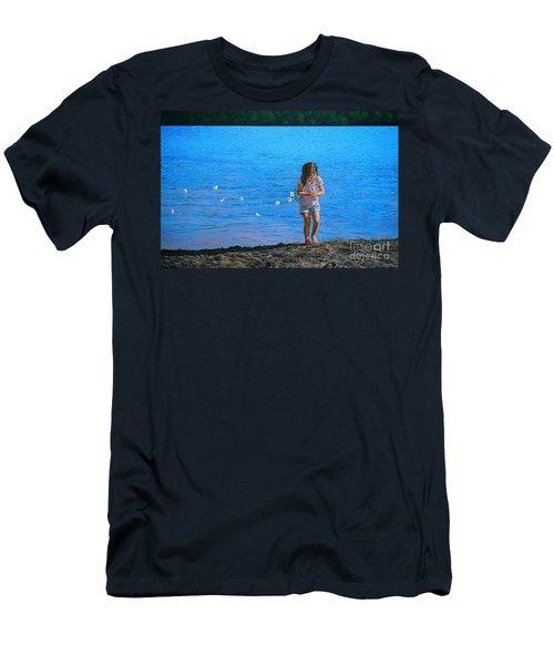 Rescuer Men's T-Shirt (Athletic Fit)