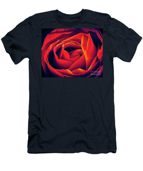 Rose Ablaze Men's T-Shirt (Athletic Fit)