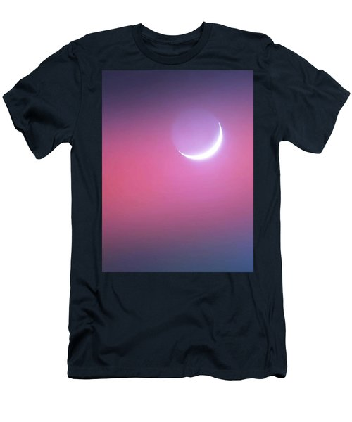 Men's T-Shirt (Athletic Fit) featuring the photograph Sagitarrius Waxing Moon 2 by Judy Kennedy