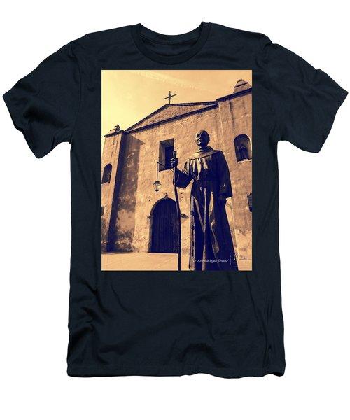 San Gabriel Valley Mission By Richard Cuevas  Men's T-Shirt (Athletic Fit)