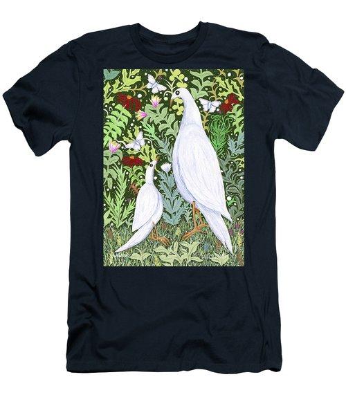 Sapientes Pacis Birds Men's T-Shirt (Athletic Fit)