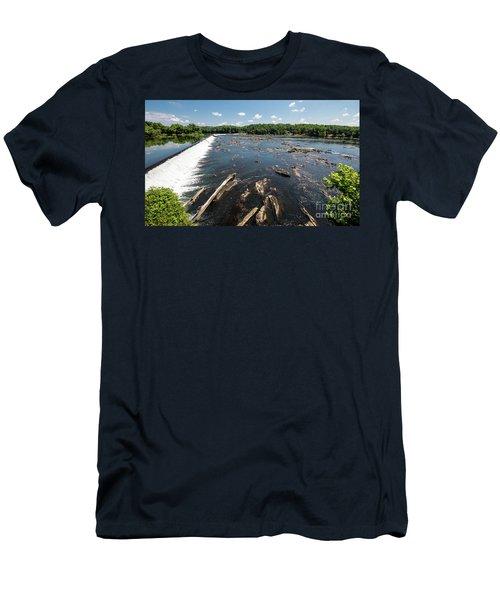 Savannah River Rapids - Augusta Ga Men's T-Shirt (Athletic Fit)