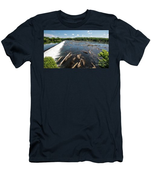 Savannah River Rapids - Augusta Ga Men's T-Shirt (Athletic Fit)