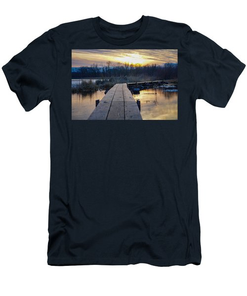 Simple Beauty Men's T-Shirt (Athletic Fit)